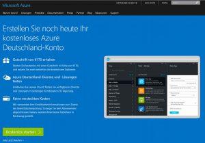 Azure Deutschland Cloud